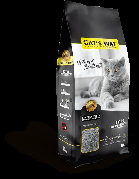 Cat's Way Grey Sodıum Bentonıte