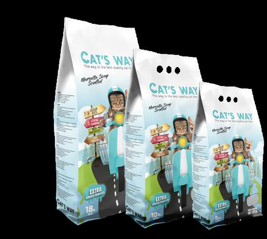 CAT'S WAY MARSEILLE SOAP