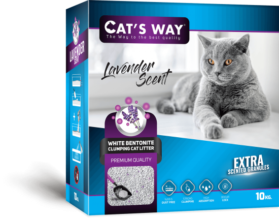 Cat's Way Lavender Scented -  Box