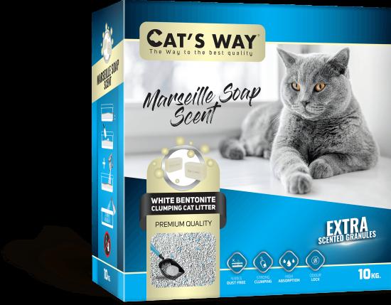 Cat's Way Marseılle Soap Scented - Box
