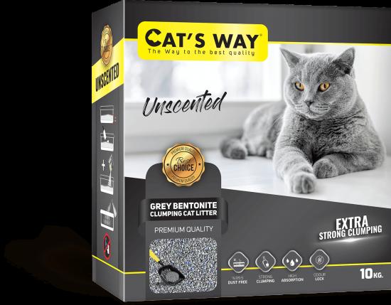 Cat's Way SODIUM Grey Unscented - Box